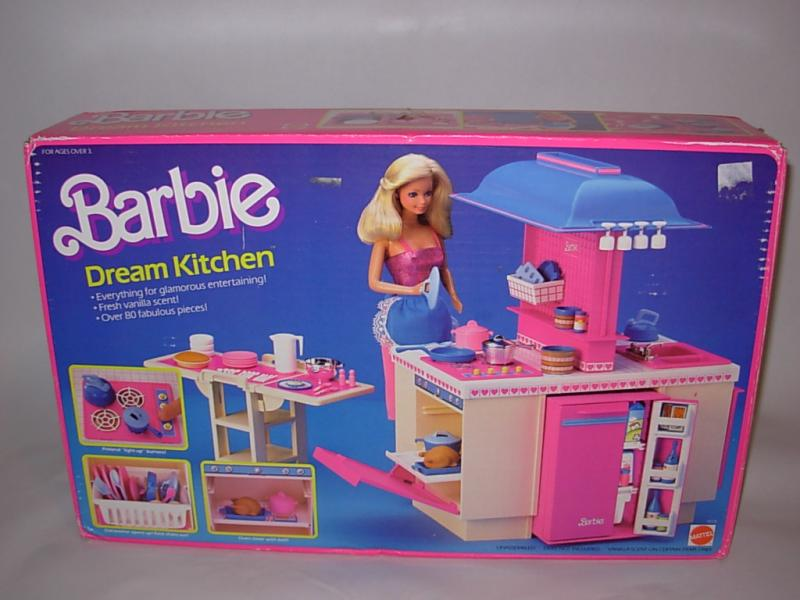 Barbie s dream kitchen zack morris cell phone for Kitchen set from the 90 s